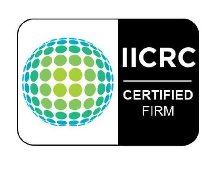 SERVPRO of Naperville is an IICRC firm